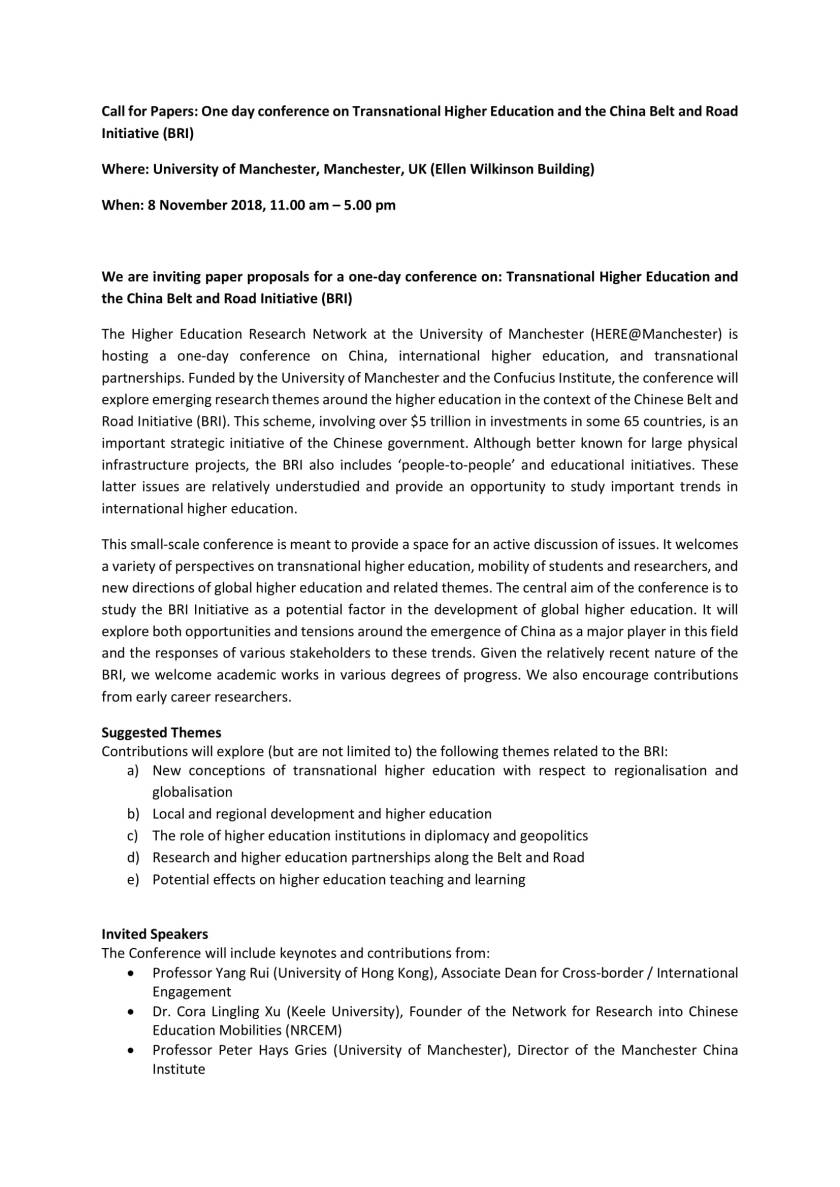 Transnational Higher Education and BRI conference_Call for Papers-1