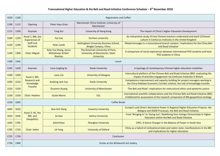 TNHE and BRI Conference Programme-1